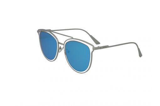משקפי שמש מבית Cool Ray מסגרת טייסים בגוון כסף- שקוף