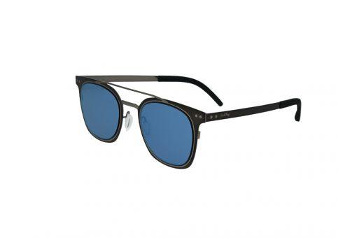 משקפי שמש מבית Cool Ray מסגרת מרובעת בגוון שחור- אפור