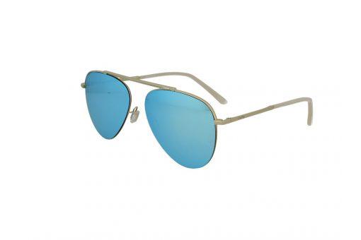 משקפי שמש מבית Cool Ray מסגרת טייסים בגוון זהב