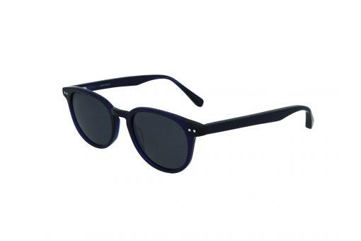 משקפי שמש מבית Cool Ray מסגרת אובר סייז עגול בגוון כחול כהה