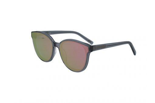 משקפי שמש מבית Cool Ray מסגרת חתולית בגוון אפור שקוף