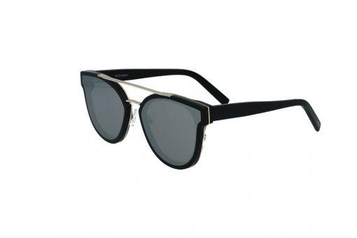 משקפי שמש מבית Cool Ray מסגרת חתולית בגוון שחור - זהב
