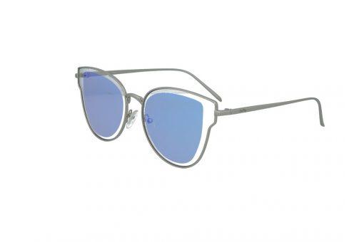 משקפי שמש מבית Cool Ray מסגרת חתולית בגוון כסף