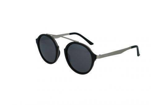 משקפי שמש מבית Cool Ray מסגרת עגולה בגוון שחור-כסף