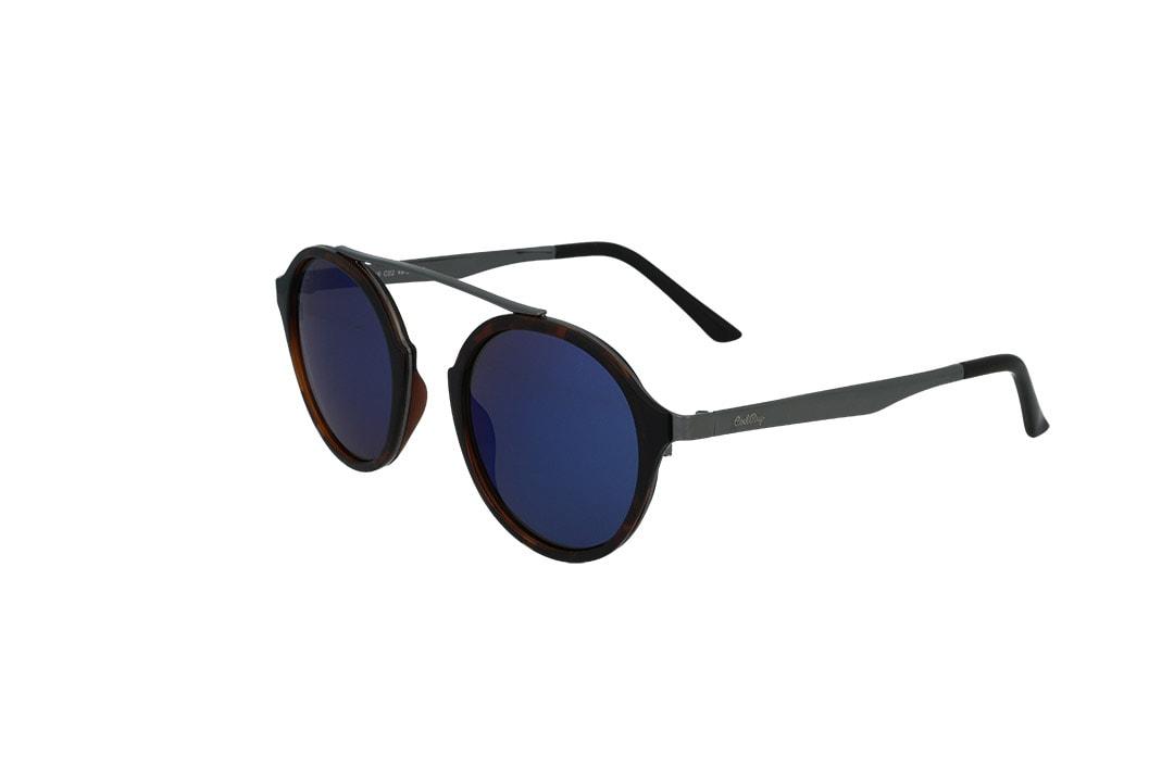משקפי שמש מבית Cool Ray מסגרת עגולה בגוון מנומר- אפור