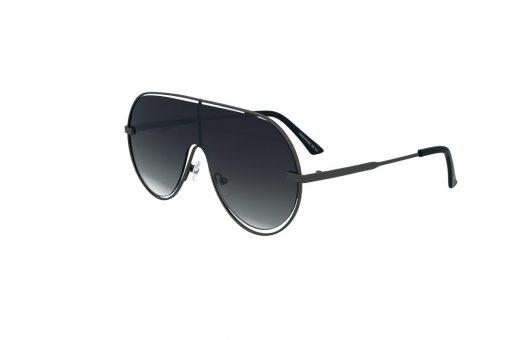 משקפי שמש מבית Cool Ray בדגם מסיכה בגוון שחור