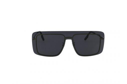 משקפי שמש מבית KENZO בדגם מרובע בגוון שחור ועדשה כהה