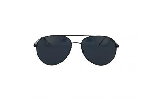 משקפי שמש מבית Tommy Hilfiger בדגם טייסים קלאסי בגוון שחור ועדשות כהות