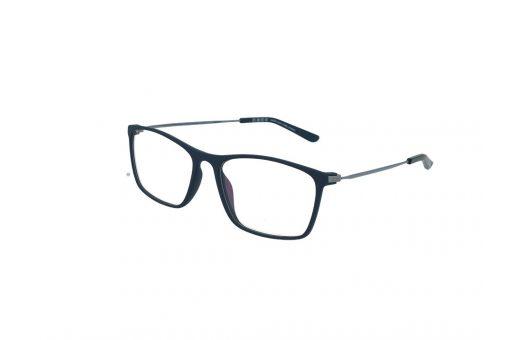 משקפי ראייה Ultemate opt מסגרת אולטם בגוון כחול וזרוע אפורה