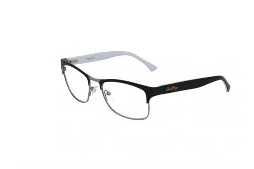 משקפי ראייה CoolRay opt מסגרת מתכת בגוון שחור-לבן
