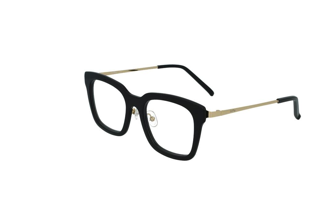 משקפי ראייה CoolRay opt מסגרת פלסטיקבגוון שחור-זהב