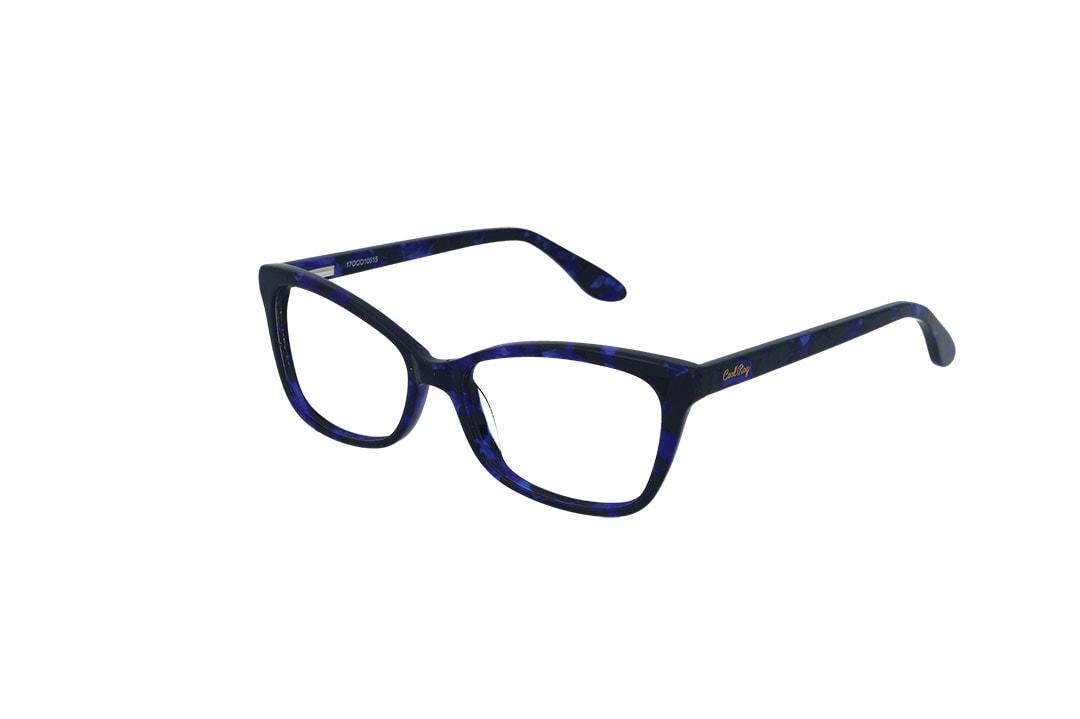 משקפי ראייה CoolRay opt מסגרת פלסטיקבגוון כחול שחור