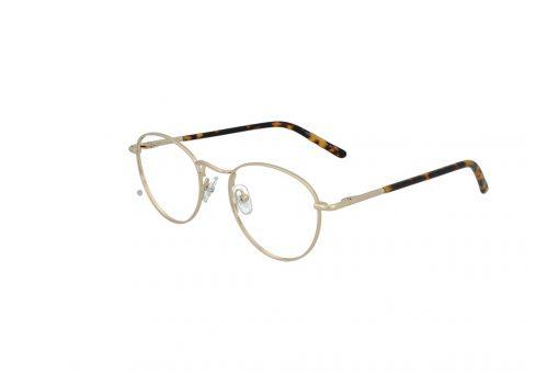 משקפי ראייה Cool Ray opt מסגרת מתכת בגוון זהב