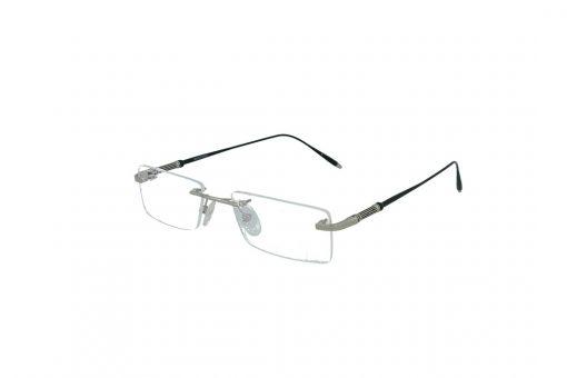 משקפי ראייה Cool Ray opt מסגרת מתכת בגוון כסוף שחור