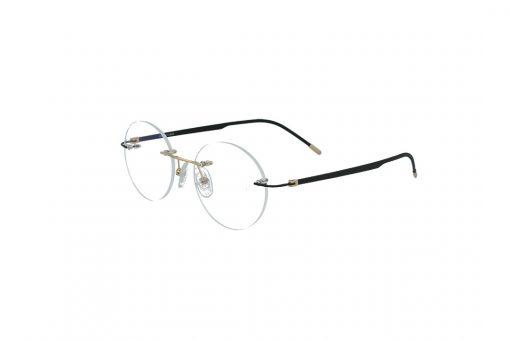 משקפי ראייה Cool Ray opt מסגרת מתכת בגוון שחור וזהב