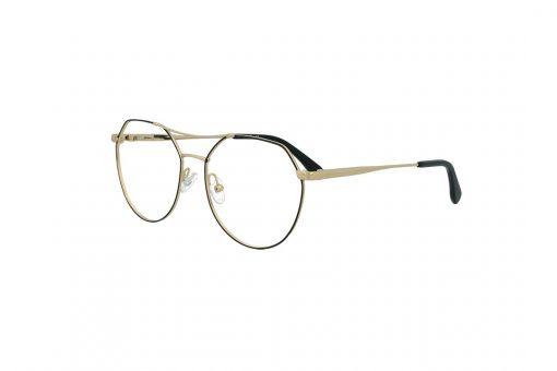 משקפי ראייה Cool Ray מסגרת מתכת בגוון שחור וזהב