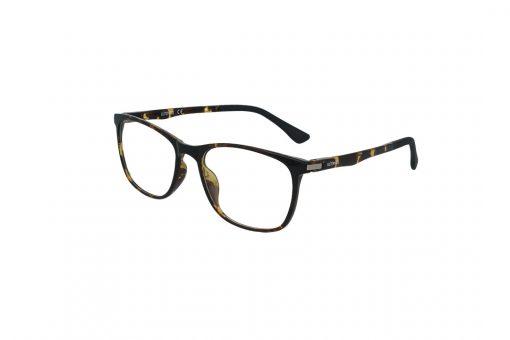 משקפי ראייה Ultemate opt מסגרת אולטם בגוון חום הוואנה מבריק