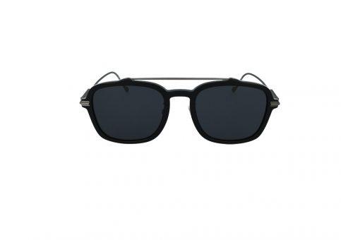 משקפי שמש מבית JIMMY CHOO בדגם חתולי נשי בגוון שחור מנומר ועדשות בגוון אפור