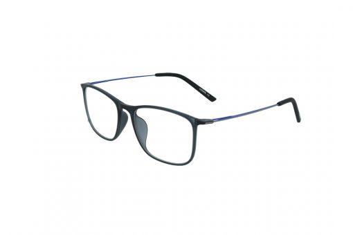 משקפי ראייה Ultemate opt מסגרת אולטם בגוון שחור מט זרוע כחולה