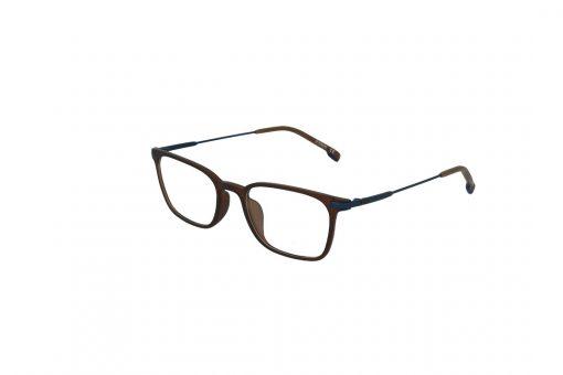 משקפי ראייה Ultemate opt מסגרת אולטם בגוון חום זרוע כחולה