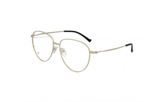 משקפי ראייה Cool Ray מסגרת מתכת עגולה בגוון זהב