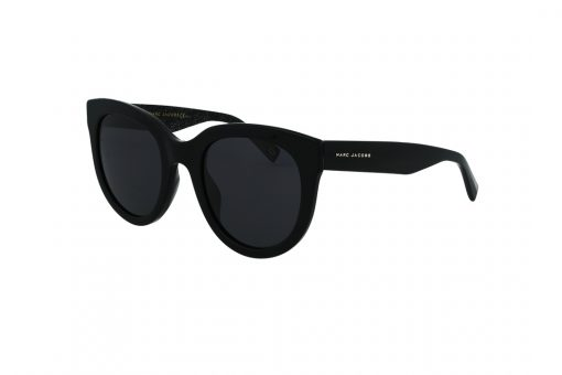 משקפי שמש MARC JACOBS בסגנון חתולי בגוון שחור ועדשות בגוון אפור כהה